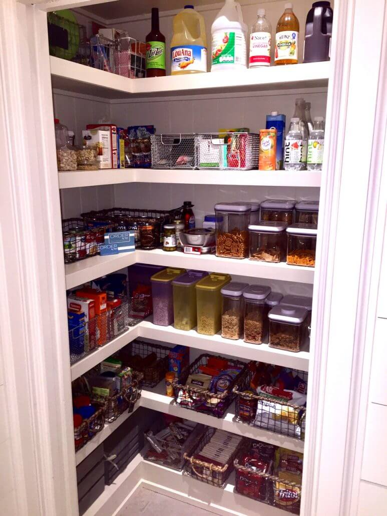 Pantry after ORDER by Kate